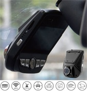 WiFi Dashboard Cam Hidden Installation 170° Wide Angle NT96658 SONY Sensor IMX323 With Parking Mode 24H